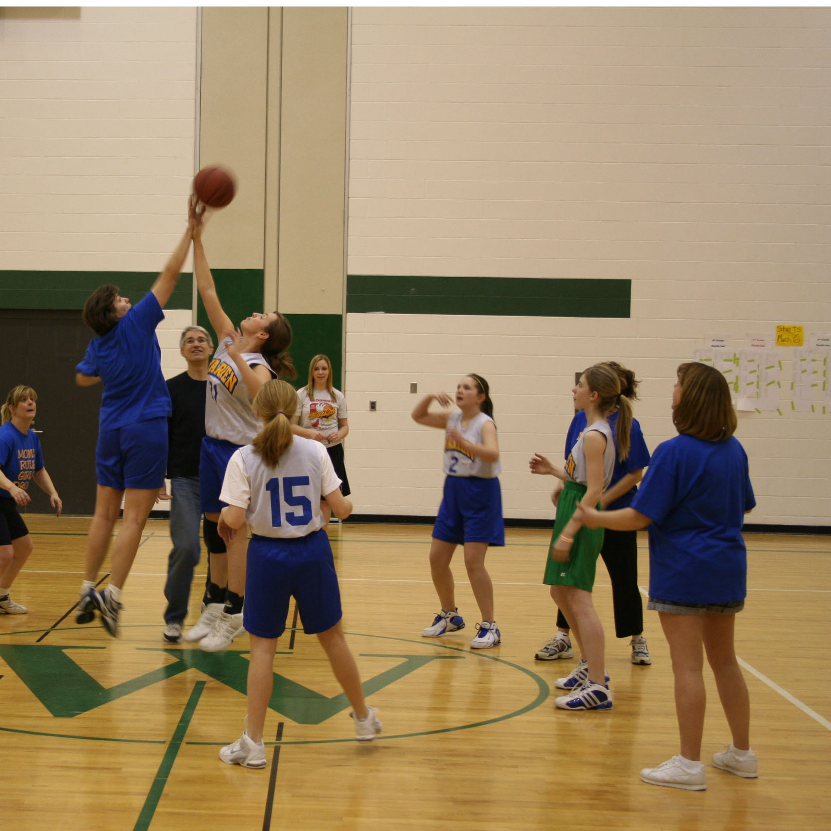 Warren Township High School Intramural Basketball League