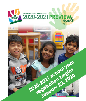 Growing Tree Preschool 2020-2021 Preview Guide