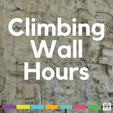 Climbing Wall Hours
