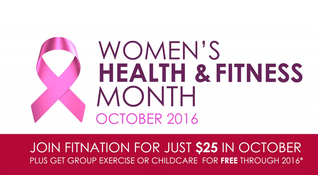 Free Admission for Women at FitNation's Women's Health and Fitness Open House