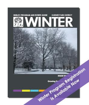 Winter Program Guide 2020 - 2021
