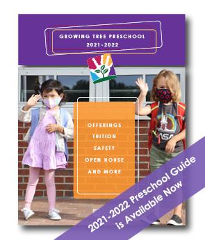 Growing Tree Preschool 2021-2022 Preview Guide
