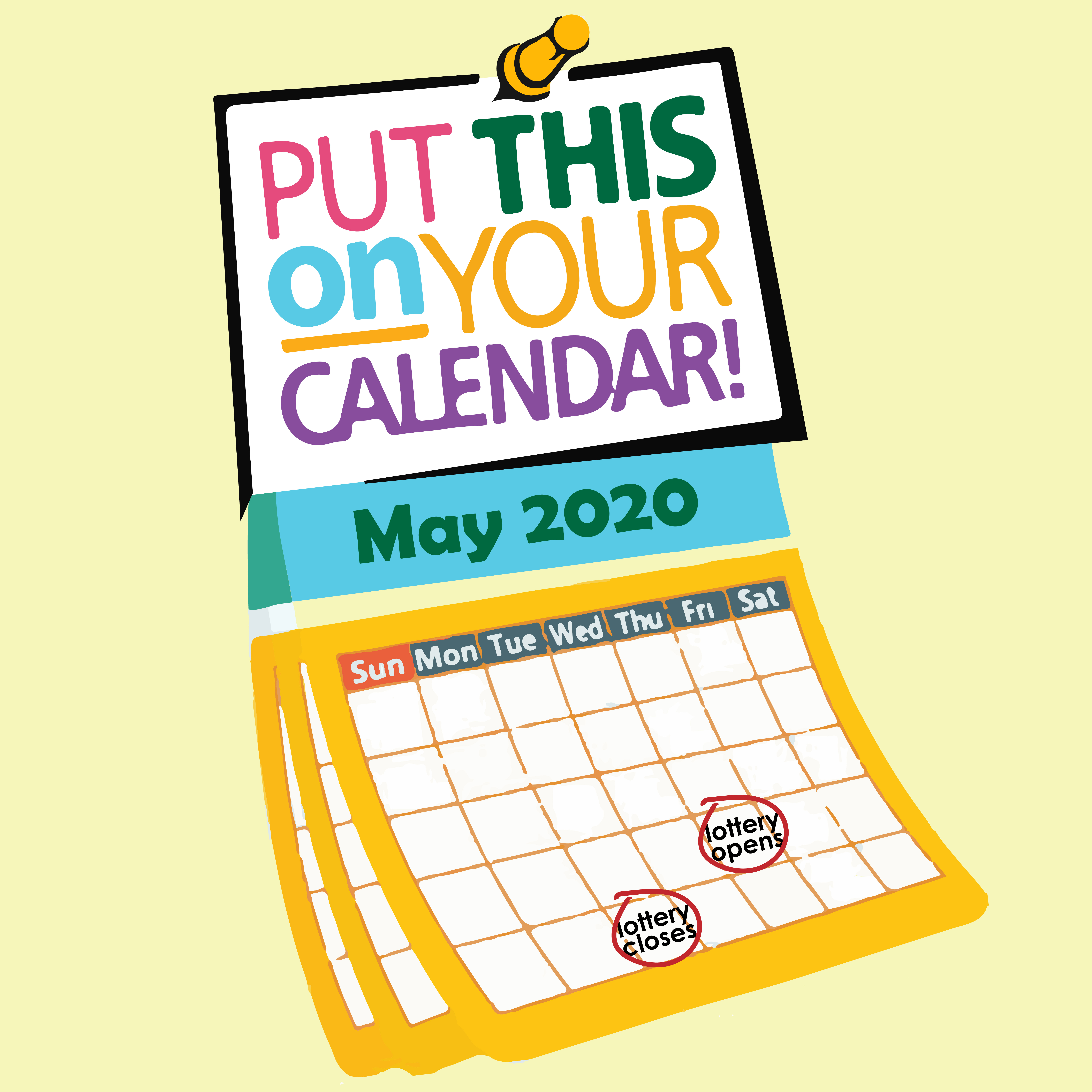 Enter the lottery from May 21 - May 26.