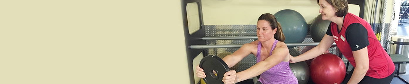 Personal training available at FitNation Gurnee.