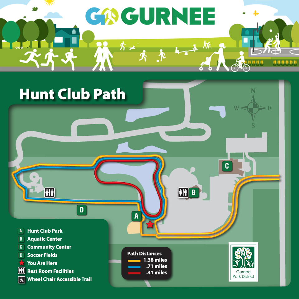 Hunt Club Park - GO Walking Map