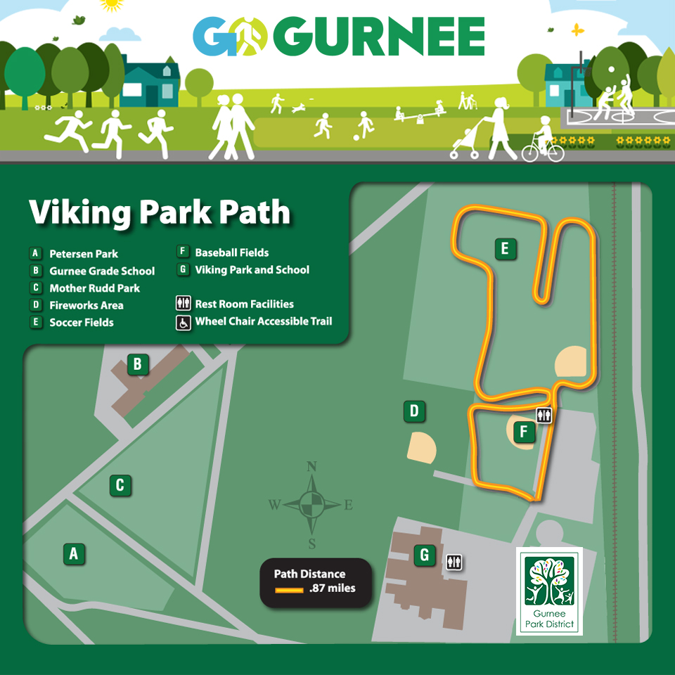 Viking Park - GO Walking Map