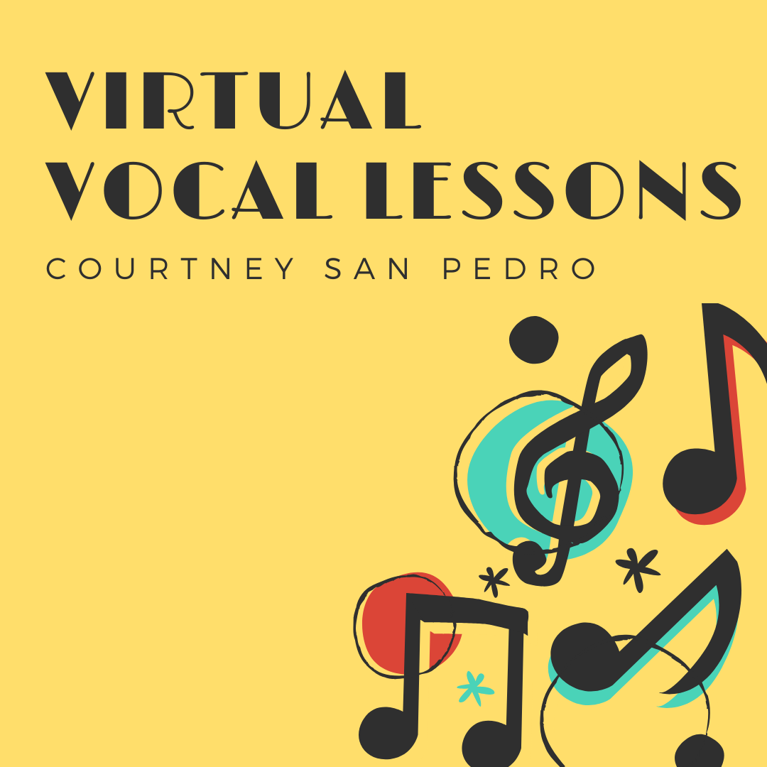 Attend private, virtual vocal lessons.