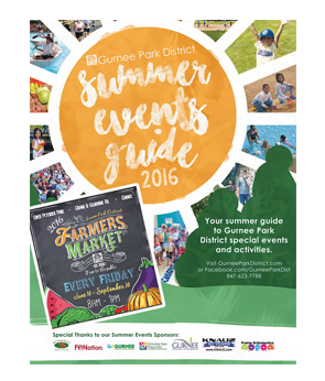 2016 summer special events and program guide