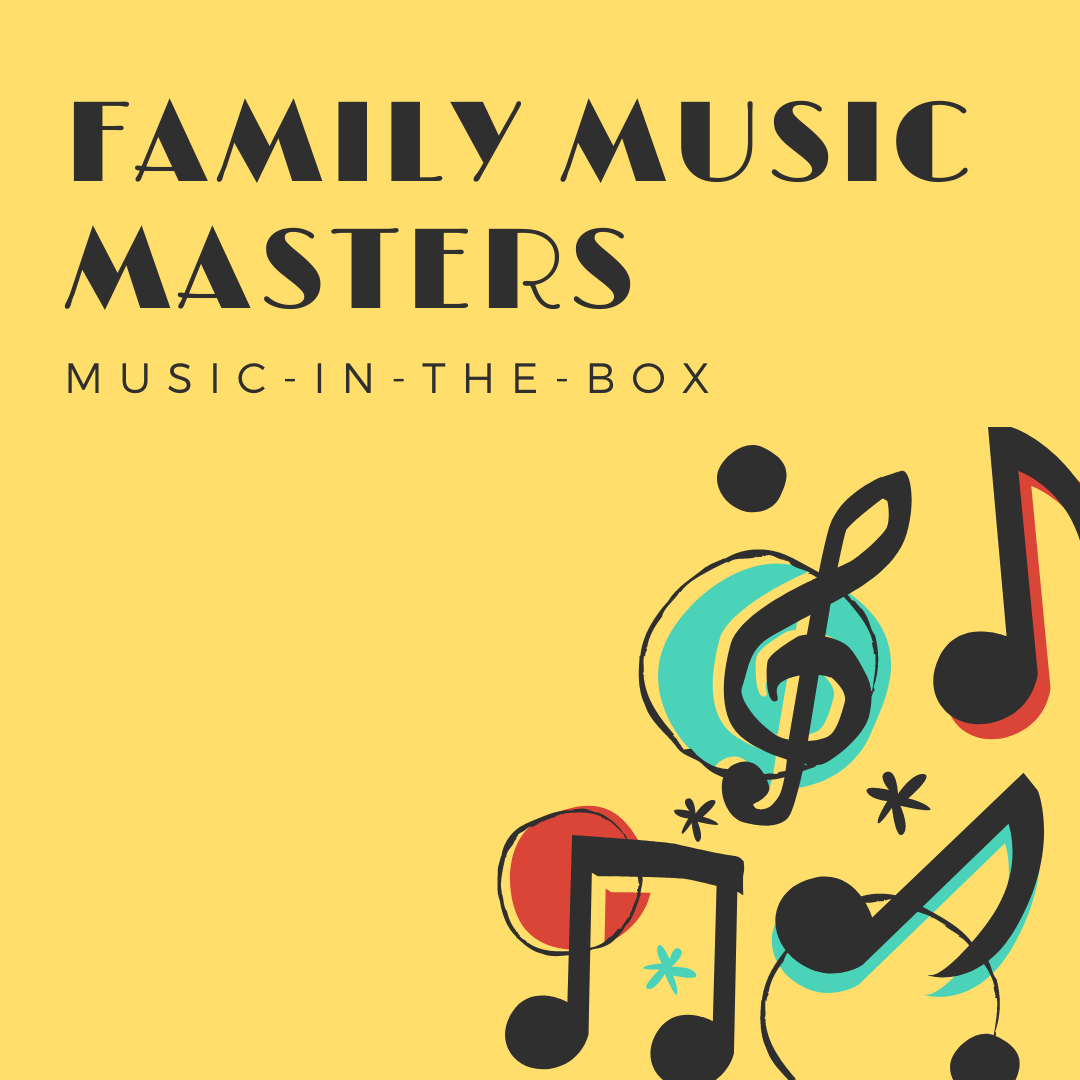 Virtual music class for family fun. Recommended ages 0 - 3.