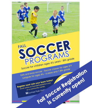Learn about the Fall Soccer Program